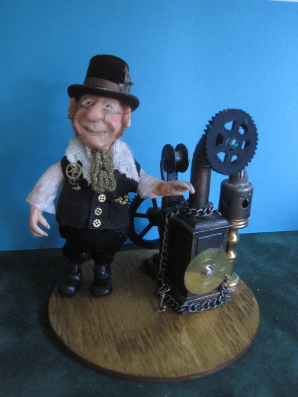 Steampunk Gnome (old school)